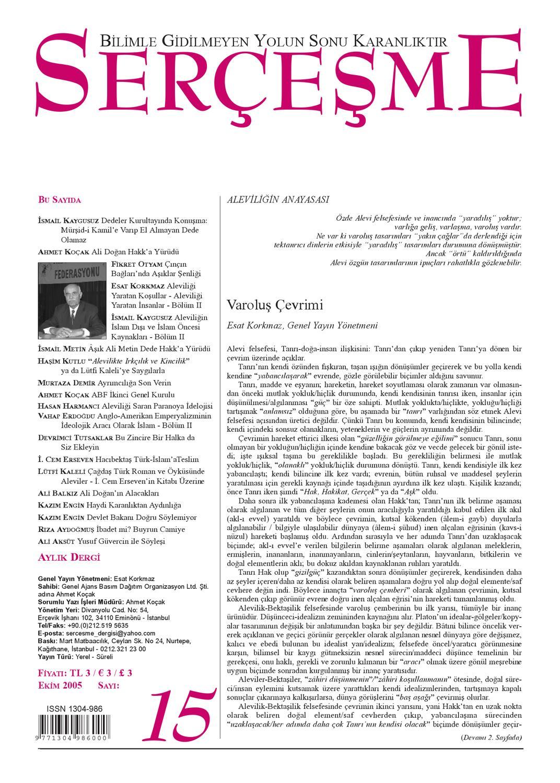 Sercesme Sayi 15 Ekim 2005 By Esen Uslu Issuu