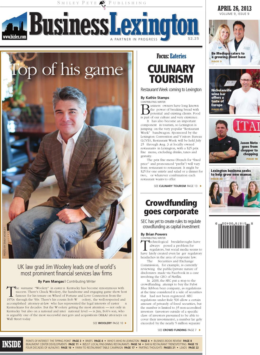 Business lexington april 26 2013 by smiley pete publishing issuu malvernweather Gallery