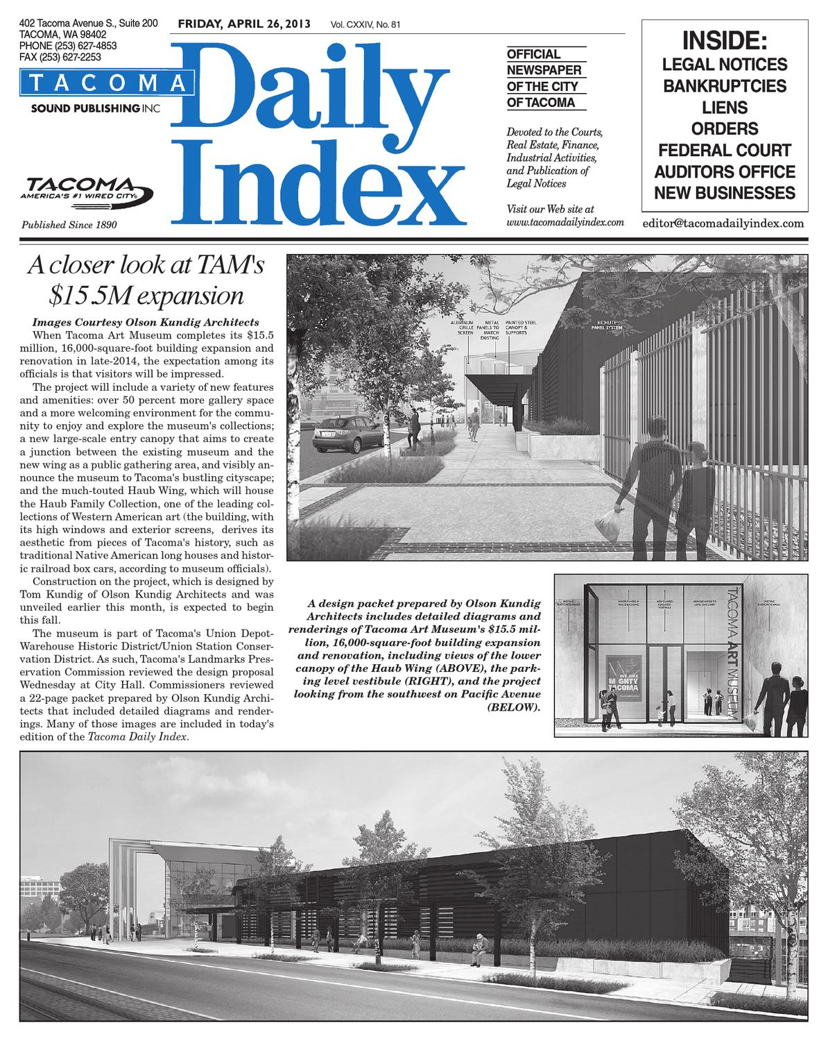 Andrea Garciaxxx tacoma daily index, april 26, 2013sound publishing - issuu