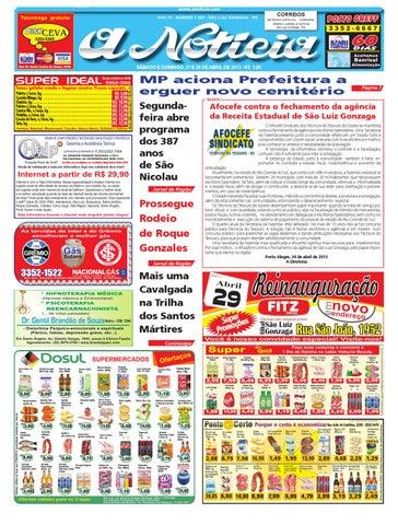 5cb2fb549 Edição de 27 e 28 de abril de 2013 by Jornal A Notícia - issuu