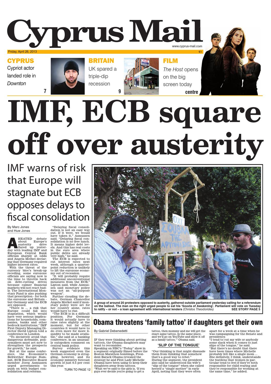 fe3a4ef04da0 Cyprus Mail newspaper by Cyprus Mail Co Ltd - issuu