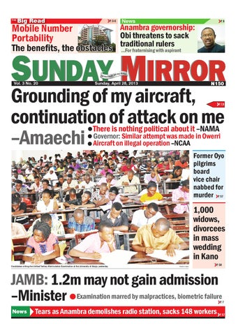 Sunday, April 28, 2013 by GLOBAL MEDIA MIRROR LIMITED - issuu