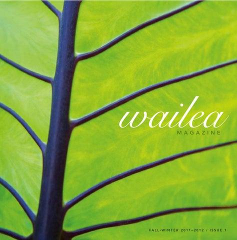 cf77fe277 Wailea Magazine Fall-Winter 2011-2012 by Morris Media Network - issuu