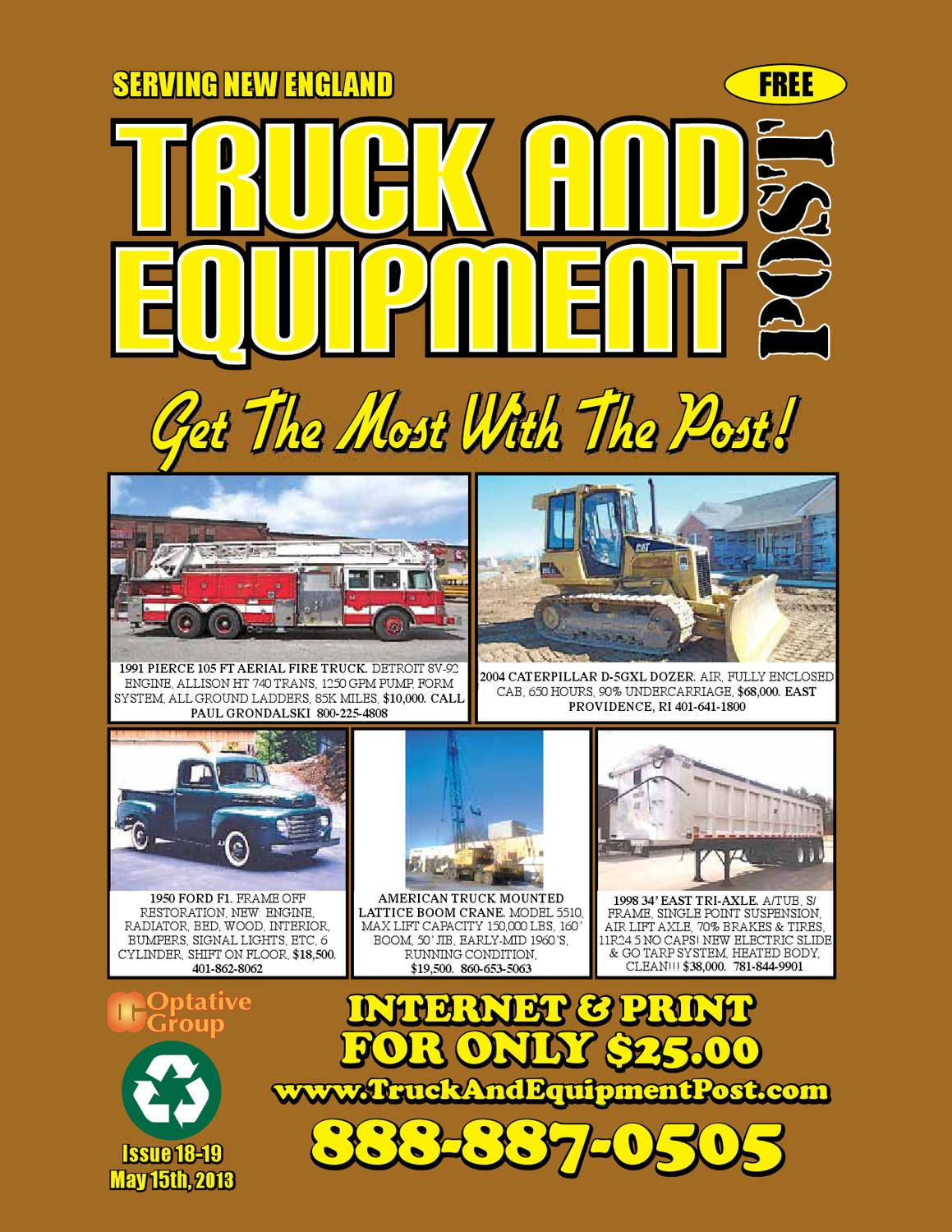 Truck And Equipment Post - Issue #18-19, 2013 by 1ClickAway
