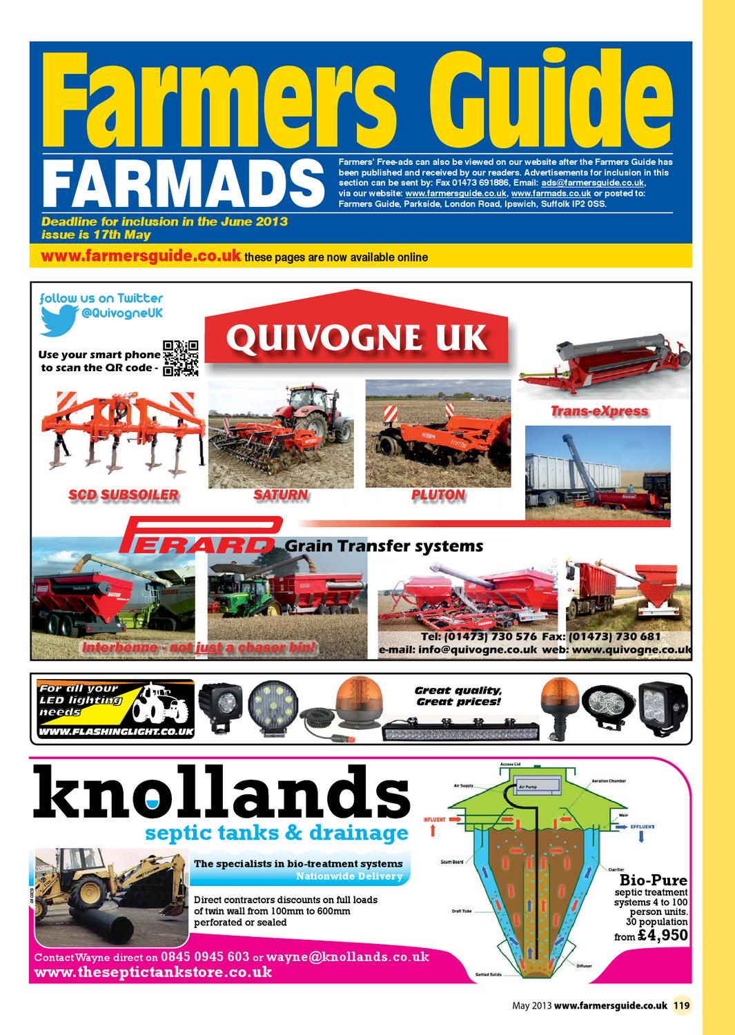 Farmers Guide Classified Section May 2013 By Issuu Stiga Comfort 16 2010 Parts Diagram Engine Briggs Stratton