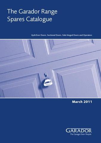 Spares For Garador Garage Doors By Mansfield Garage Doors Issuu