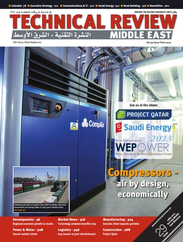 Technical Review Middle East 3 2013 by Alain Charles