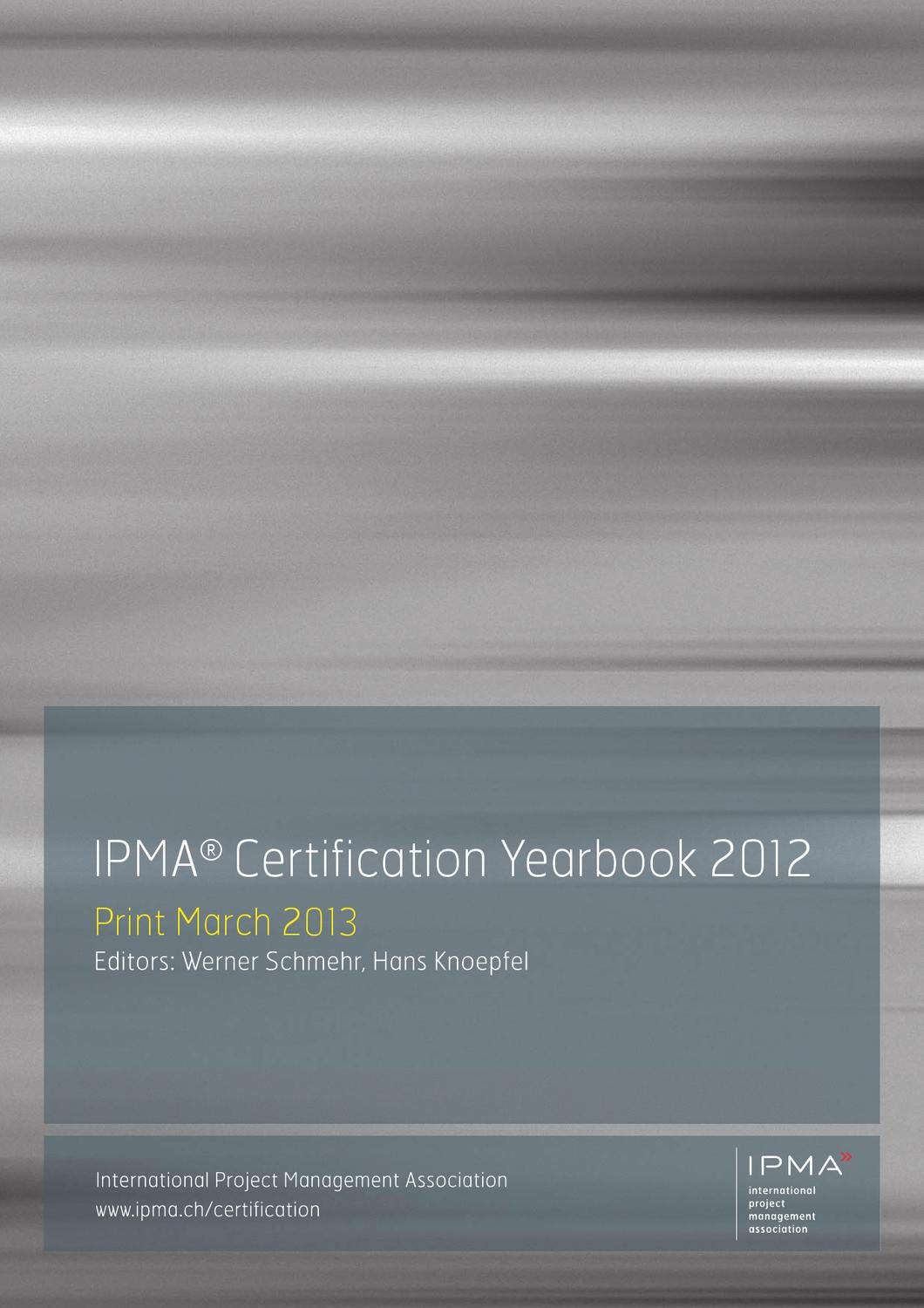 Ipma Certification Yearbook 2012 By Aeipro Issuu