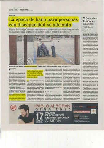 DOSSIER PRENSA DISCAPACIDAD 27-28 ABRIL by Asociación Verdiblanca ... b121b4dfba8e