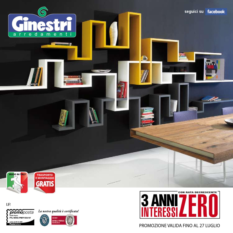 Ginestri arredamenti catalogo marzo 2014 by kynetos s r l for Ginestri arredamenti