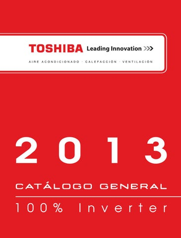 a8beaf27471 Tarifa Toshiba Aire Acondicionado 2013 by Fanair S.L. - issuu