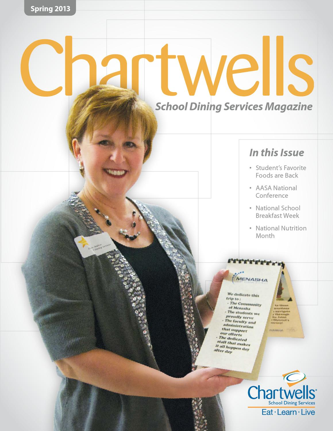 Chartwells School Dining Services Magazine by Chartwells ...