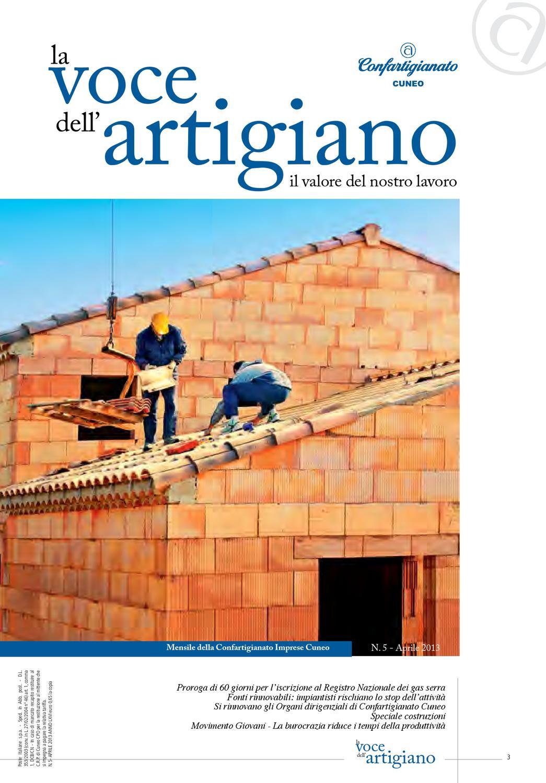 La Voce dell Artigiano - Aprile2013 by Confartigianato Cuneo - issuu c7d92ee3319d