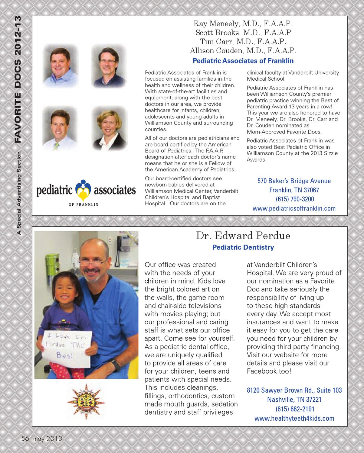 Williamson Parent - May 2013 by Day Communications/DayCom