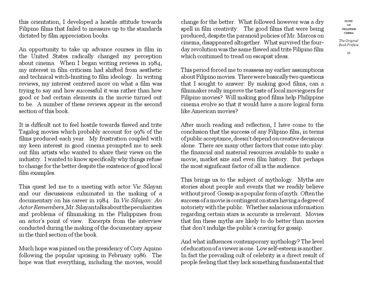 Notes on Philippine Cinema by Manny Reyes - issuu