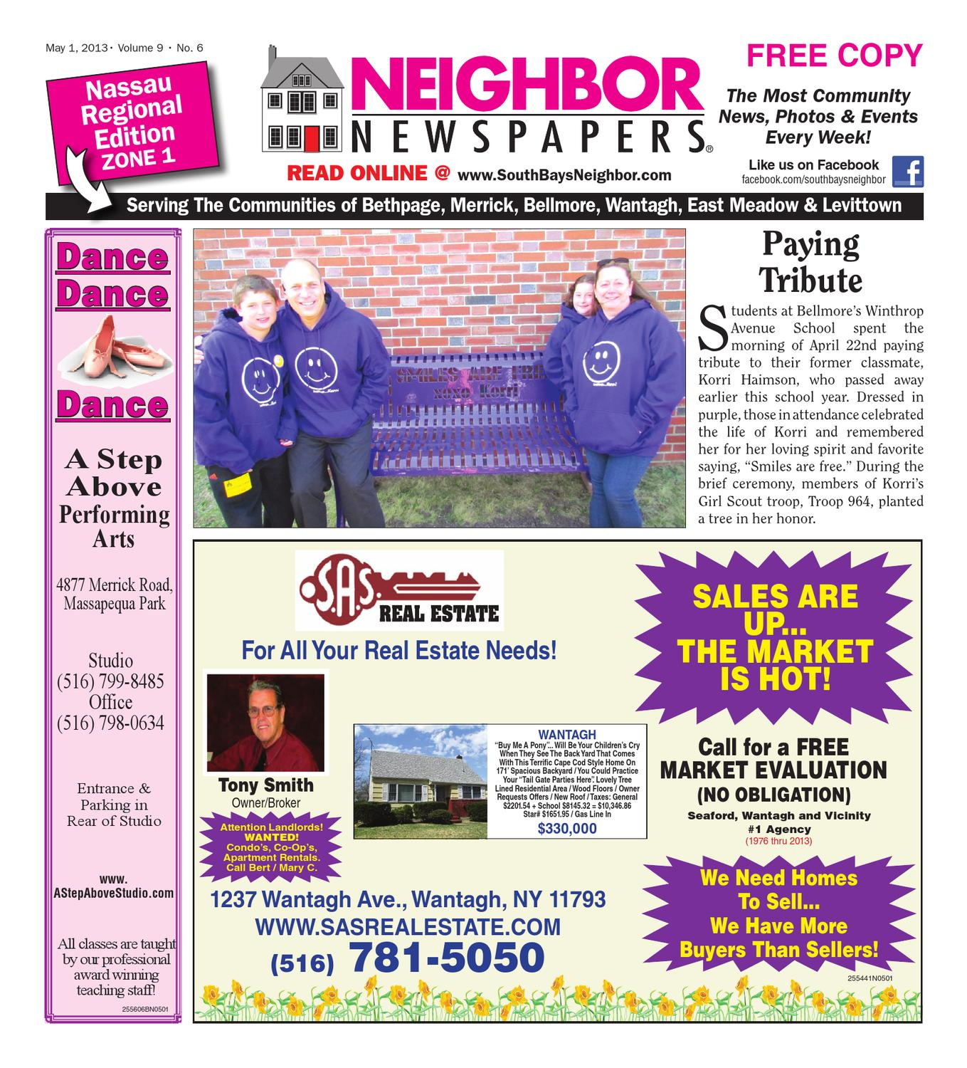 May 1, 2013 Nau Zone 1 by South Bay's Neighbor Newspapers - issuu Merrick Blvd Liry Percy Jackson on