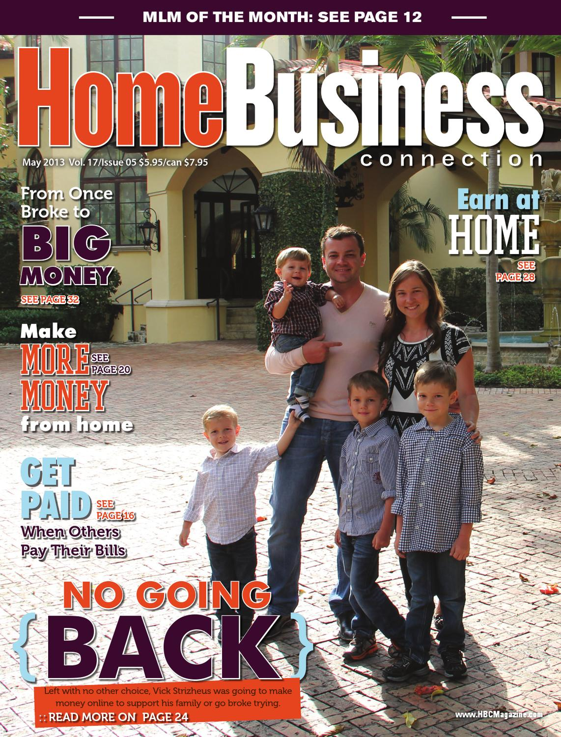 Home Business Connection Magazine  May 2013 by Cutting Edge Media  Issuu