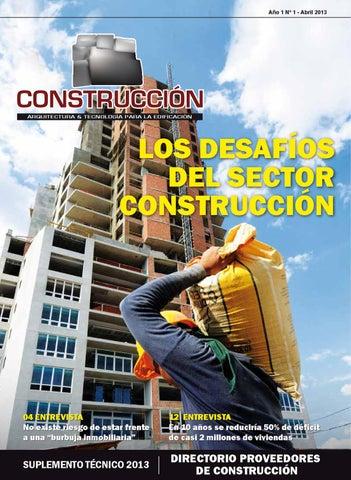 DIRECTORIO CONSTRUCCIÓNNº1 by magaly villanueva - issuu