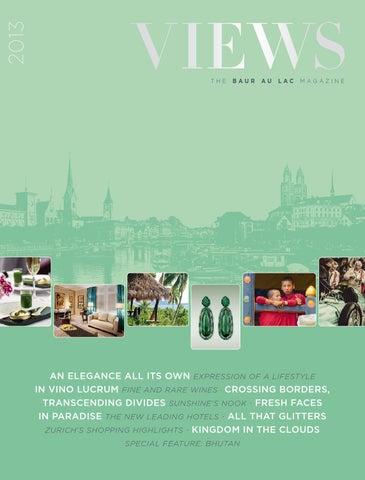 Len Kolonialstil views the baur au lac magazine for travel luxury and