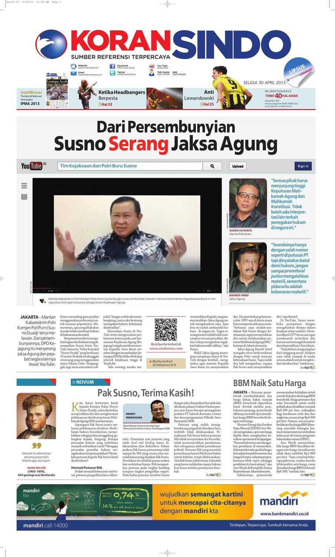 Si Digital 30042013 By Seputar Indonesia Issuu Produk Ukm Bumn Baterai Abc Alkaline Aaa 1pak 24lembar