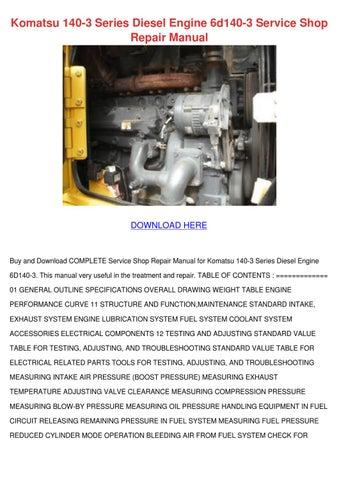 download komatsu wa500 6 wa 500 wa500 galeo wheel loader service repair workshop manual