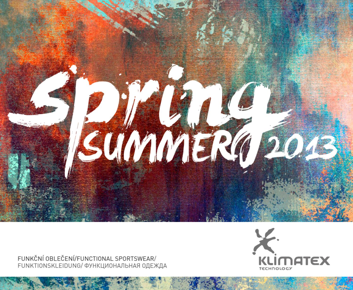 Klimatex Spring Summer 2013 by Klimatex - issuu 4fe5548e7e