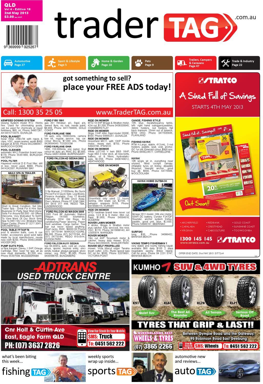 TraderTAG Queensland - Edition 18 - 2013 by TraderTAG Design - issuu