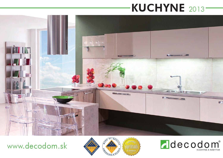3424087431fae Decodom - Kuchyne Decoplan by Decodom - Slovenský výrobca nábytku - issuu
