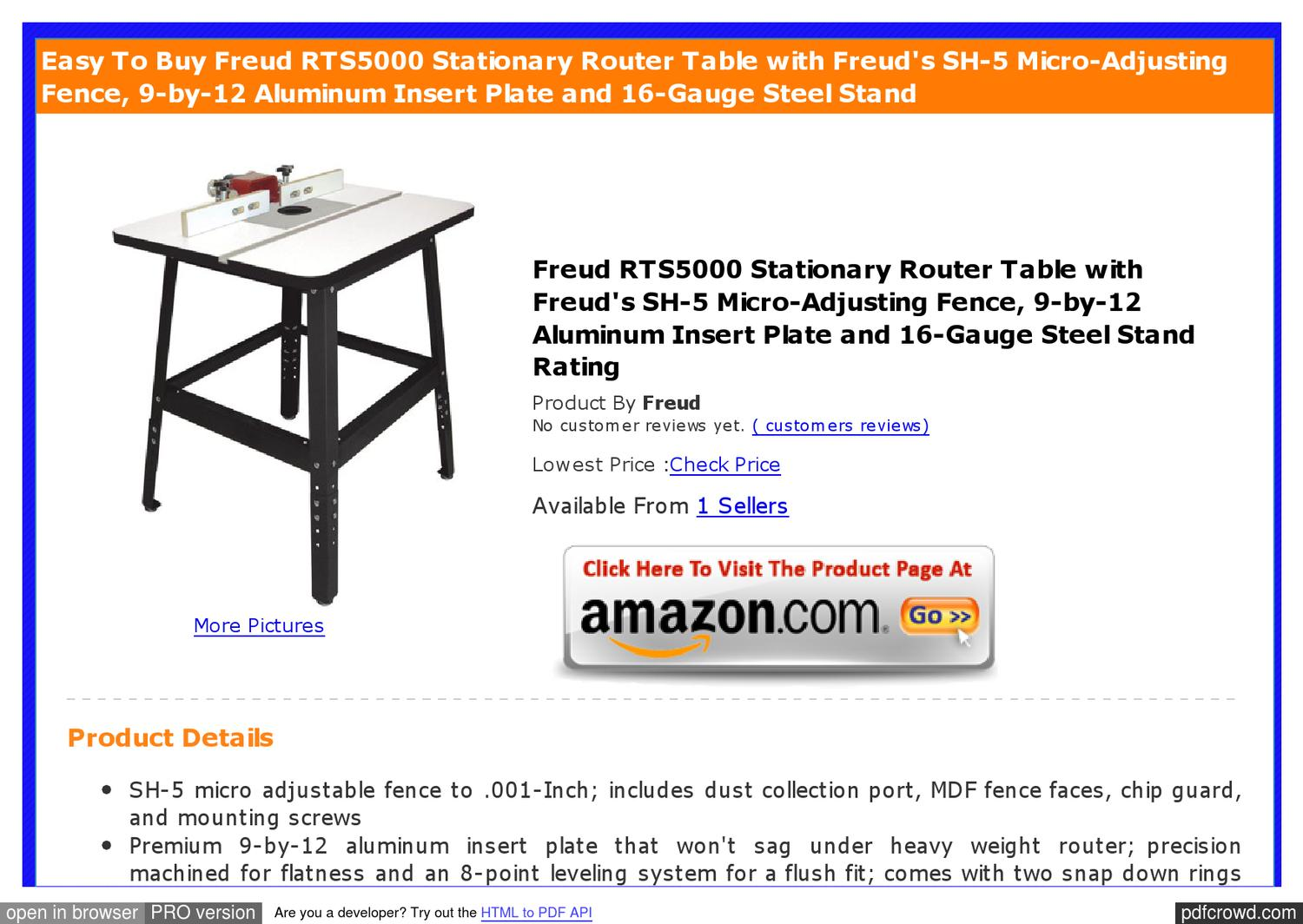 Phenomenal Review Freud Rts5000 Stationary Micro Adjusting Aluminum By Squirreltailoven Fun Painted Chair Ideas Images Squirreltailovenorg