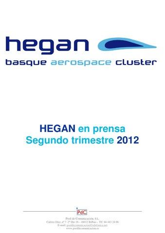 a782ce71e9e4 HEGAN en prensa segundo trimestre de 2012 by Hegan Cluster - issuu