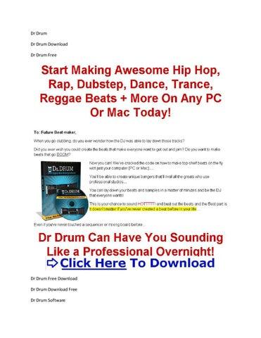 Dr Drum Beat Maker + Dr Drum Trial Download by Shruti Parekh