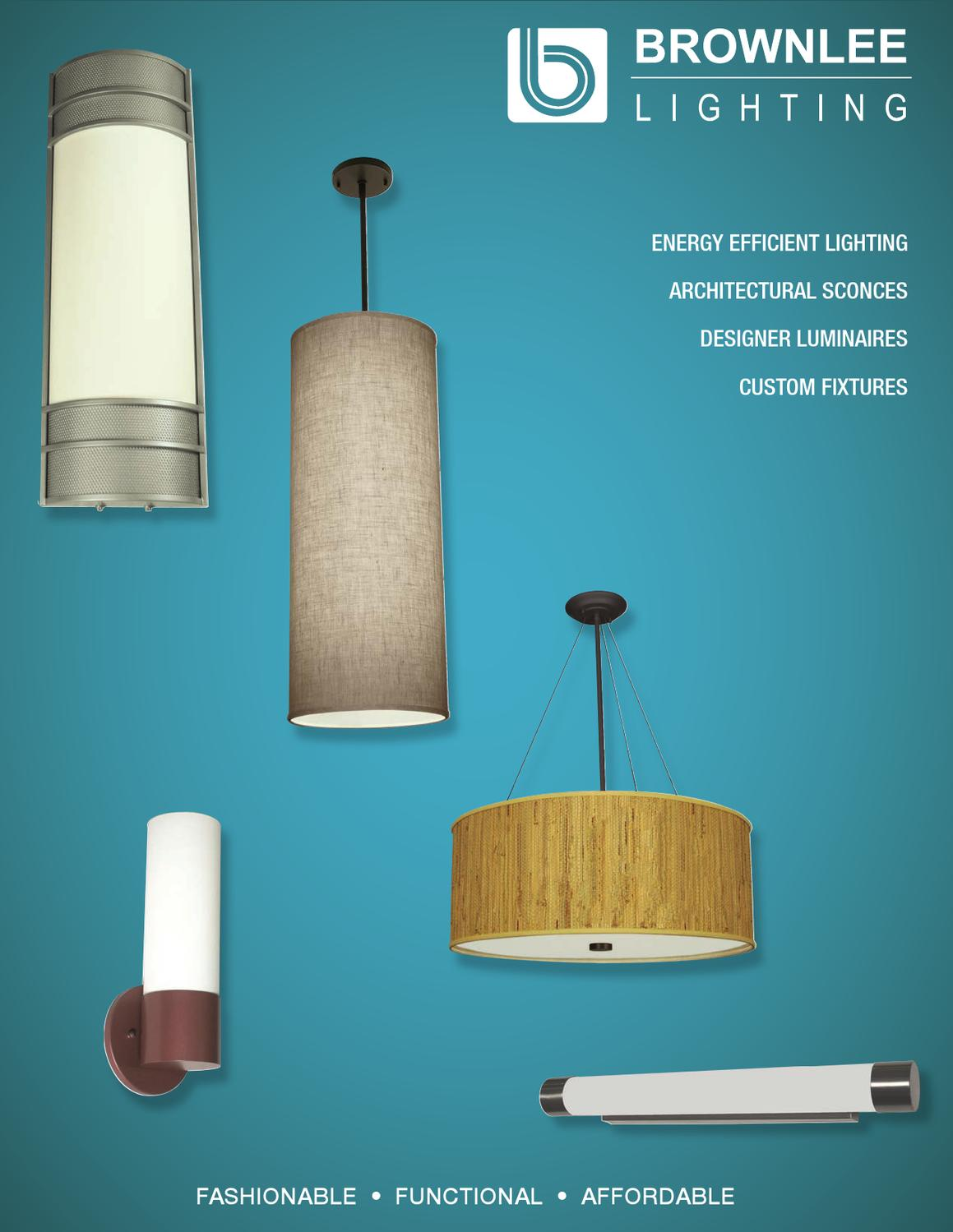 Brownlee Lighting 2017 Product Catalog By