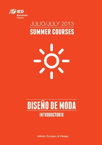 bcc209a5ba9e Curso de Verano en Diseño de Moda by IED Barcelona - issuu