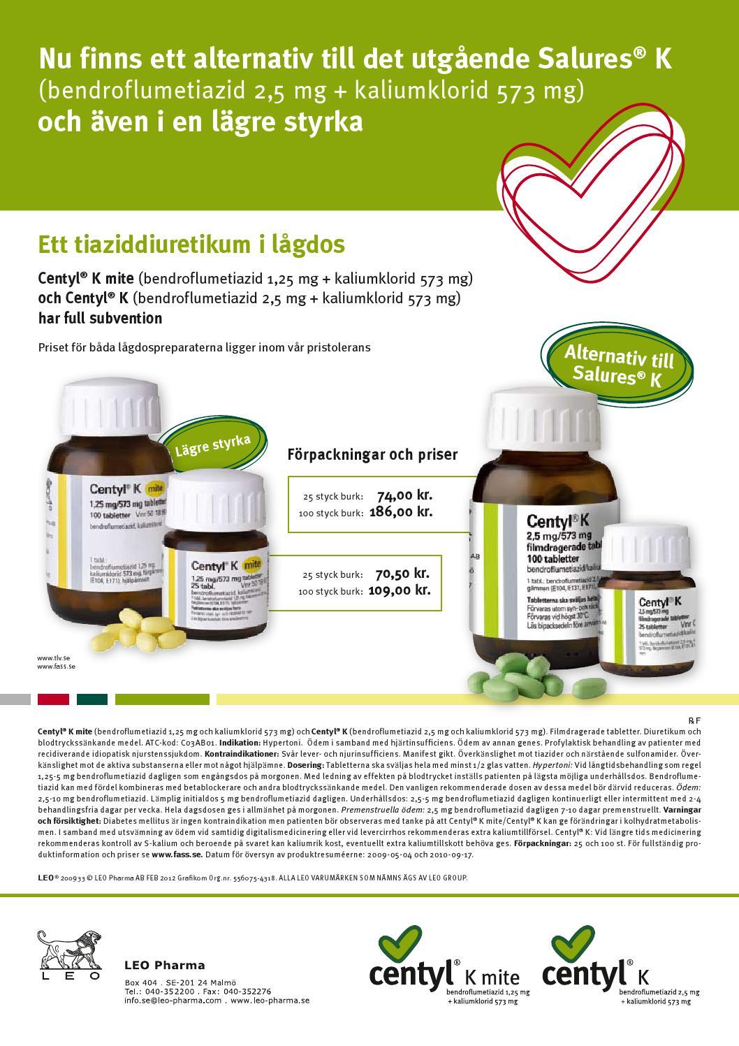 salures tablett 2 5 mg