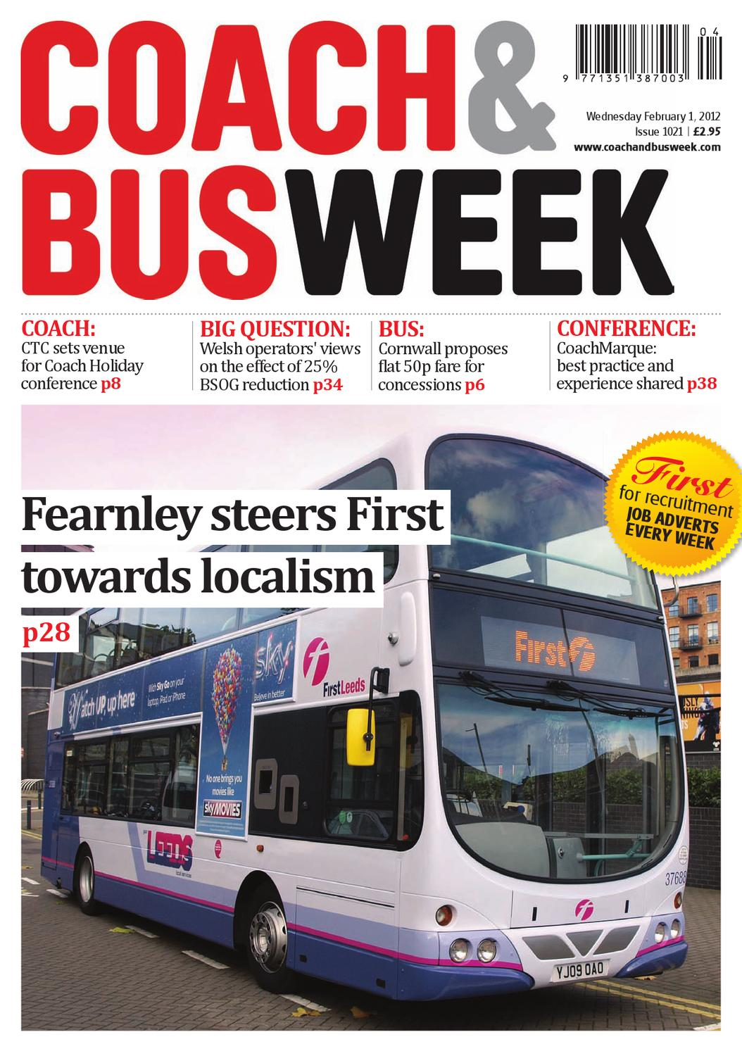 Coach & Bus Week : Issue 1021 by Coach and Bus Week & Group