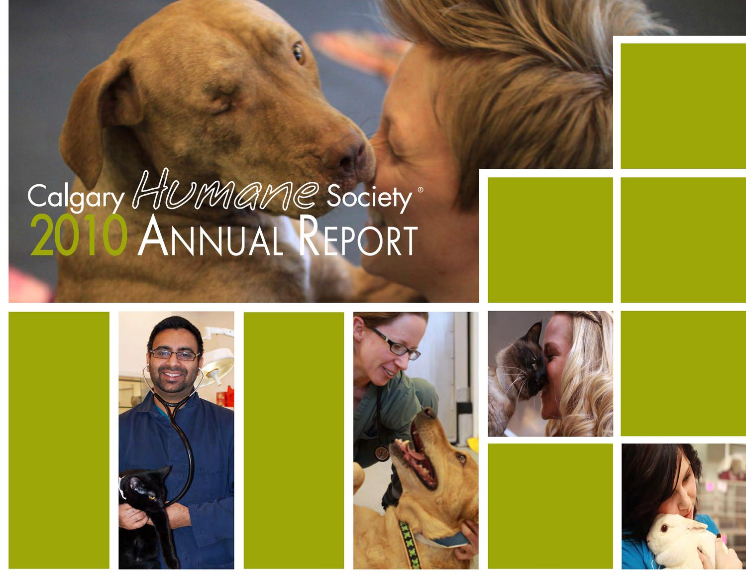 2010 CHS Annual Report by Calgary Humane Society - issuu
