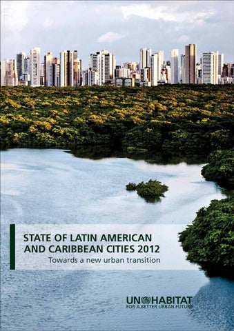 State Of Latin America And The Caribbean Cities 2012