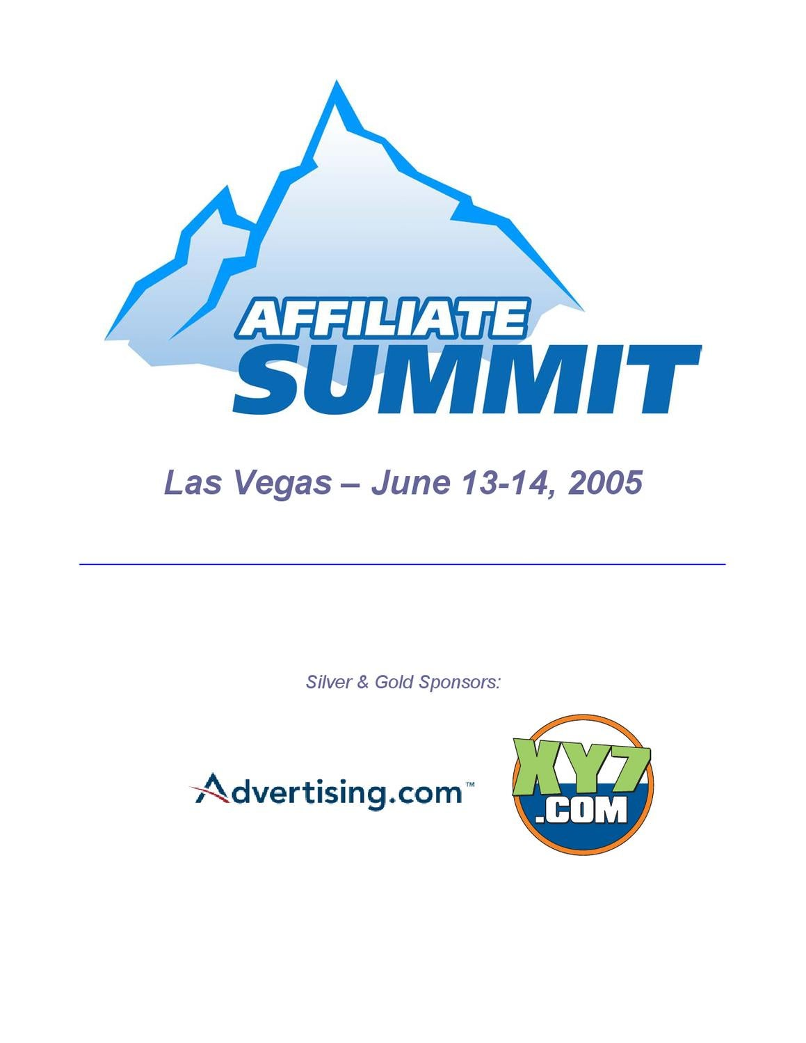Affiliate summit 2005 program by affiliate summit issuu fandeluxe Choice Image