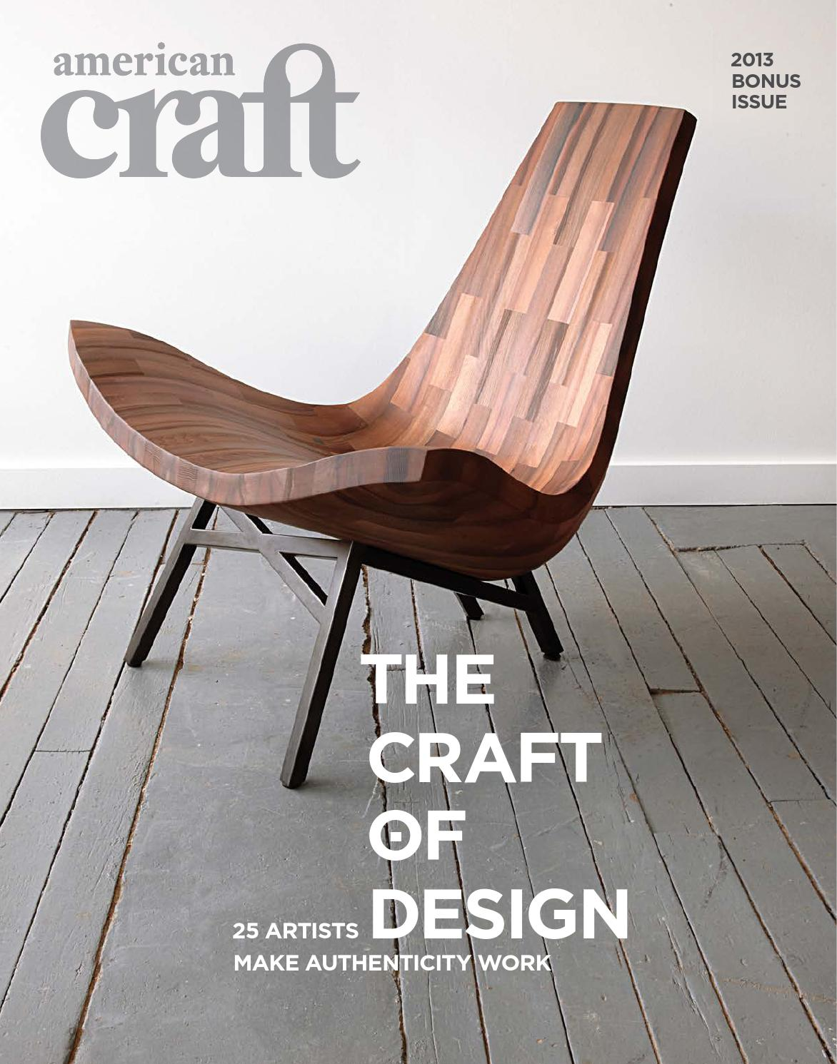American Craft Design 2013 By American Craft Council   Issuu