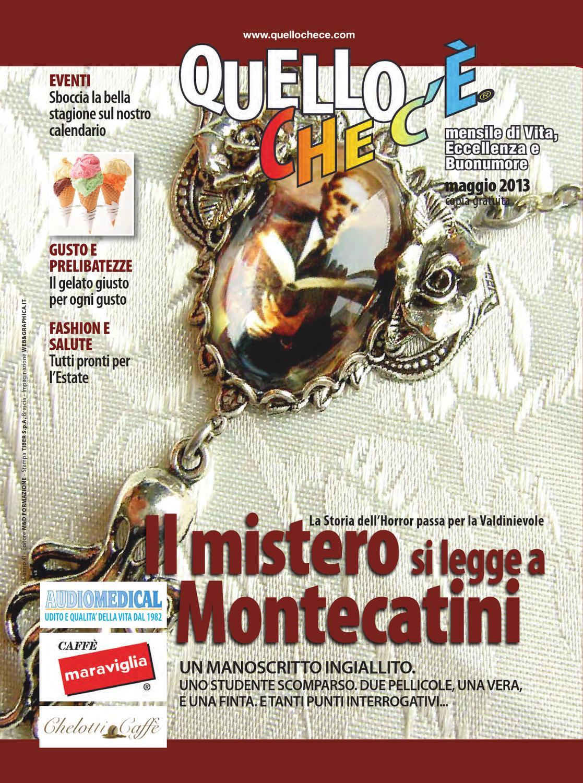 Quello che c è - Maggio 2013 by quellochece.com - issuu ab37997f8