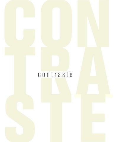a41e761f22e75 Revista Contraste  5 by CONTRASTE REVISTA - issuu