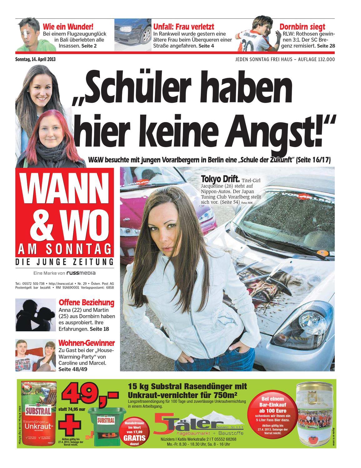issuesWAWO 20130414 by Russmedia Digital GmbH - issuu 4abd26842f