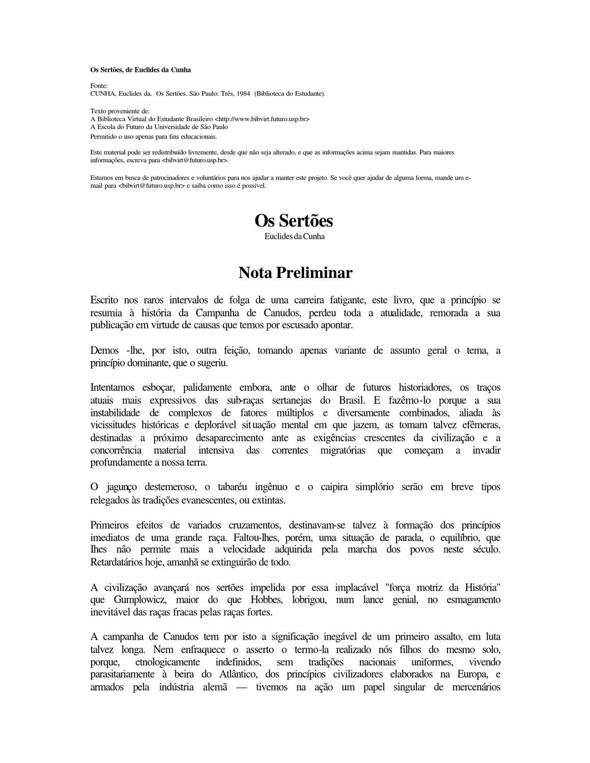 Os Sertões by Simone Vieira - issuu e7360248c59