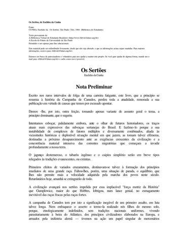 Os Sertões by Simone Vieira - issuu 2ec3f3c382a