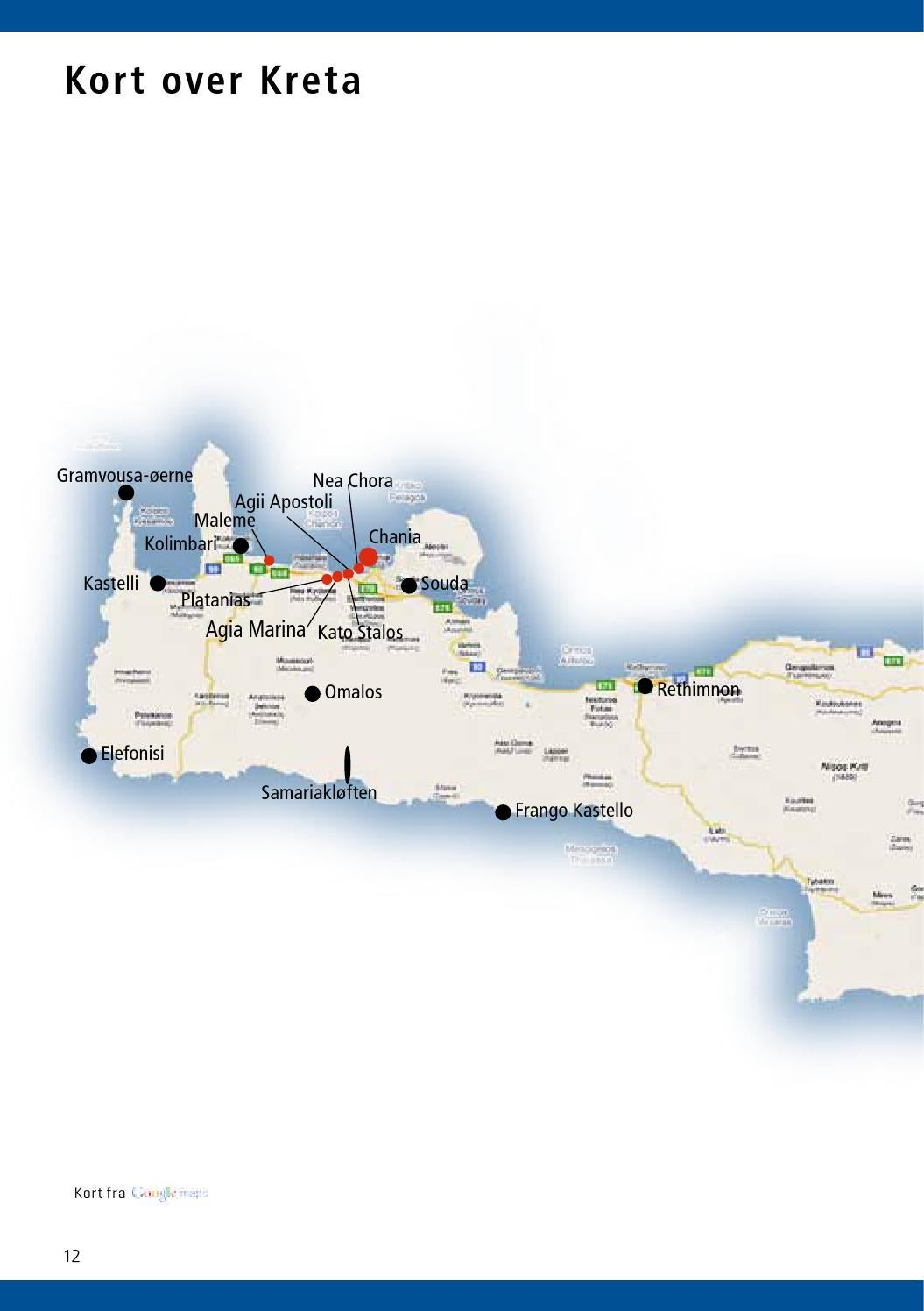 Kreta Miniguide 2013 By Primera Travel Group Issuu
