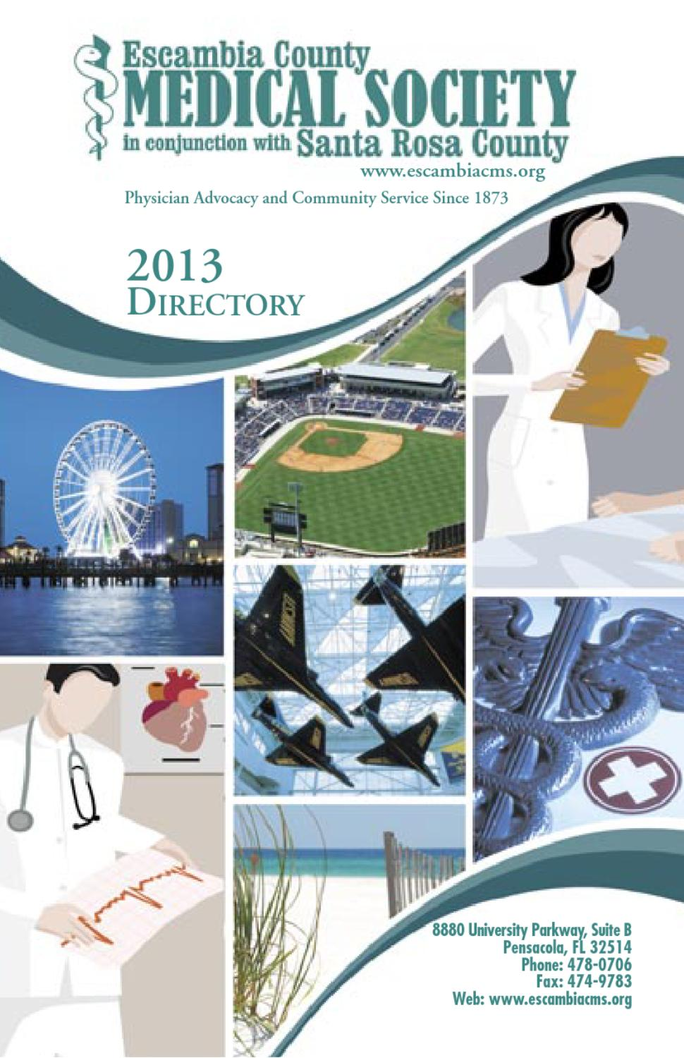 Escambia County Medical Society Directory 2013 by Ballinger