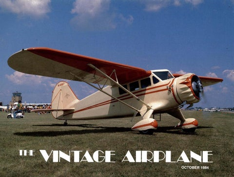Charmant VA Vol 12 No 10 Oct 1984 By EAA Vintage Aircraft Association   Issuu