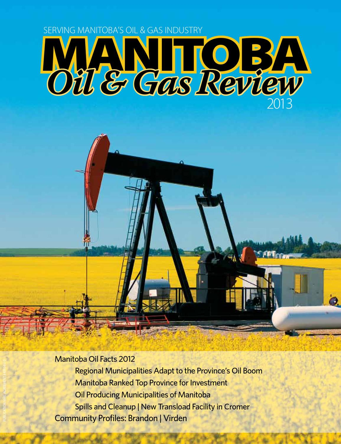 Manitoba Oil & Gas Review by DEL Communications Inc. - issuu