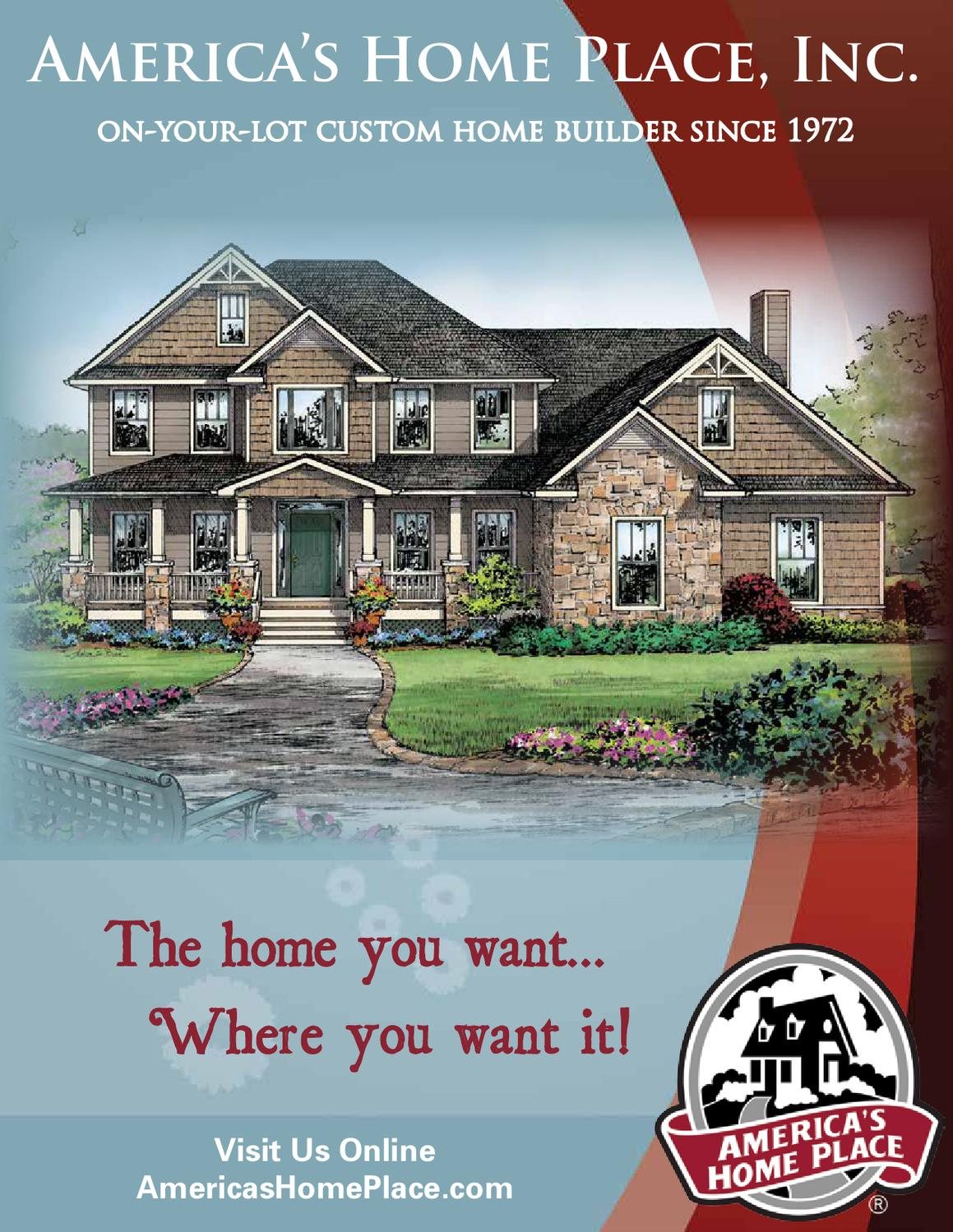 Americas home place floor plan book by donny jimerson issuu for Americas home place plans