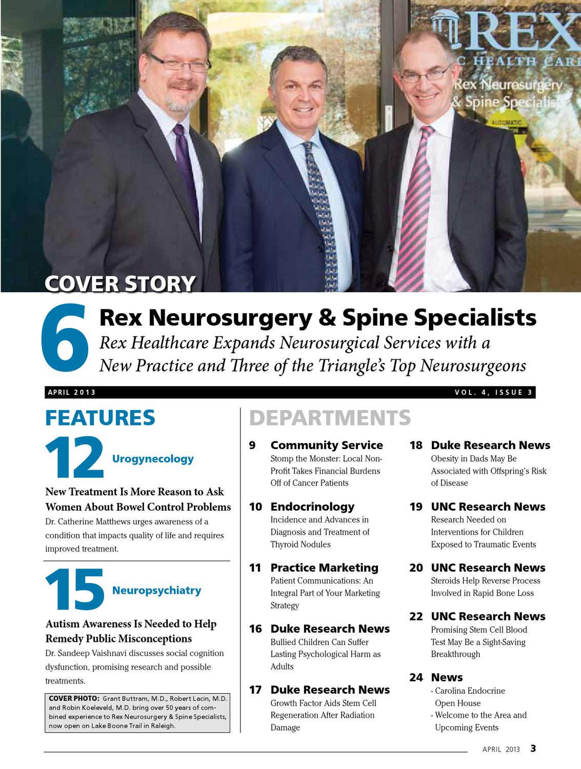 The Triangle Physician April 2013 by TTPLLC - issuu